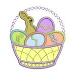Easter Basket Appliqué