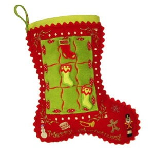 Tic Tac Toe Stocking