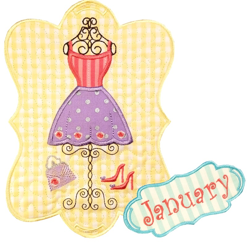Sew Seasonal - January