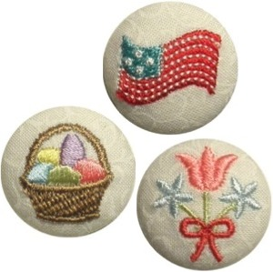Spring Holiday Button Covers